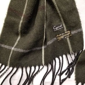Cejon Accessories - Cejon woven scarf plaid made in Italy super soft